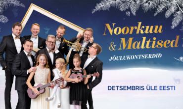 Noorkuu & Maltised – Jõulukontsert TARTUS
