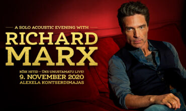 RICHARD MARX – A Solo Acoustic Evening – TALLINNAS