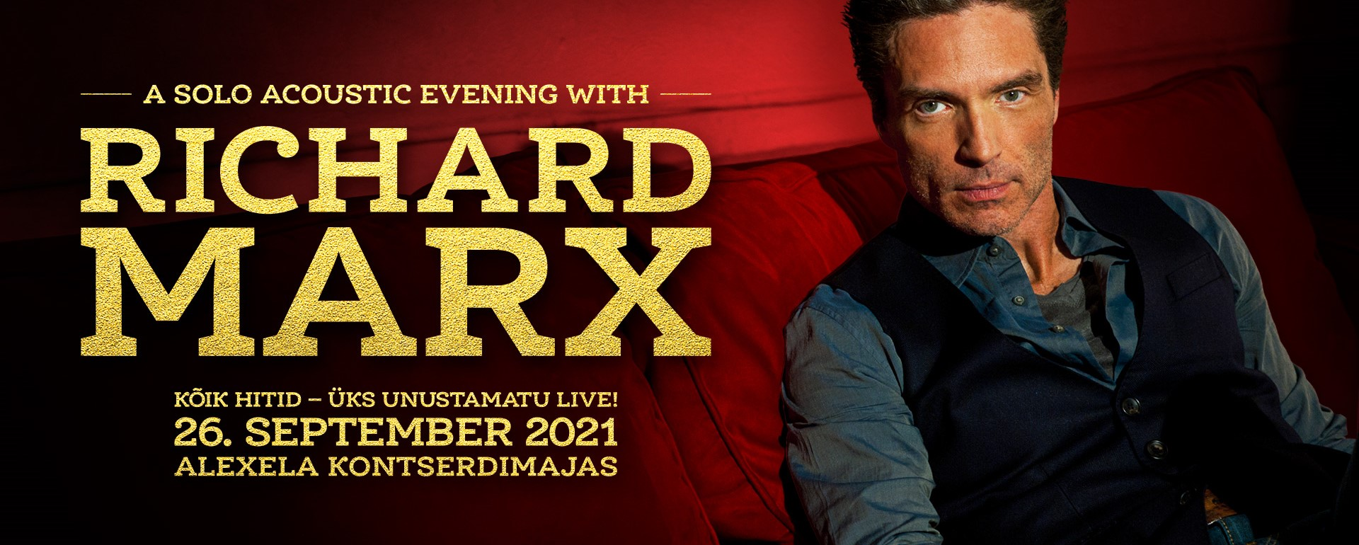 RICHARD MARX – A Solo Acoustic Evening