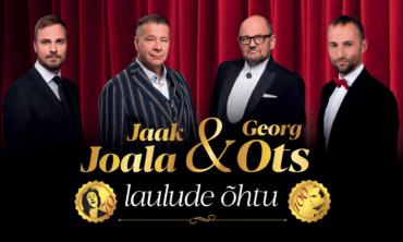 Jaak Joala & Georg Otsa laulude õhtu TALLINNAS
