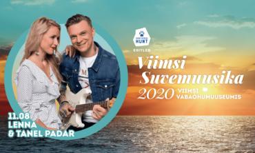Viimsi Suvemuusika 2020 – Lenna & Tanel Padar – Kas nii siis jääbki…
