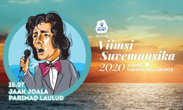 Viimsi Suvemuusika 2020 – KUULSUSE AHELAD – Jaak Joala parimad laulud