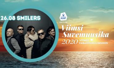 Viimsi Suvemuusika 2020 – SMILERS – Tantsin sinuga augustitaevas