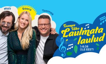 """Laulmata laulud"" – Toomas Uibo, Saara Pius & Mait Malmsten ELVAS"
