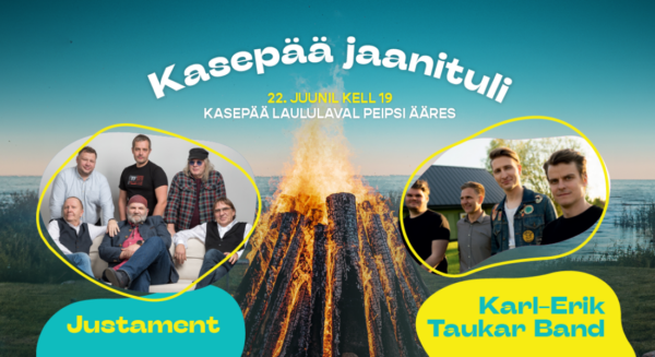 Kasepää jaanituli 2021 - Justament & Karl-Erik Taukar Band